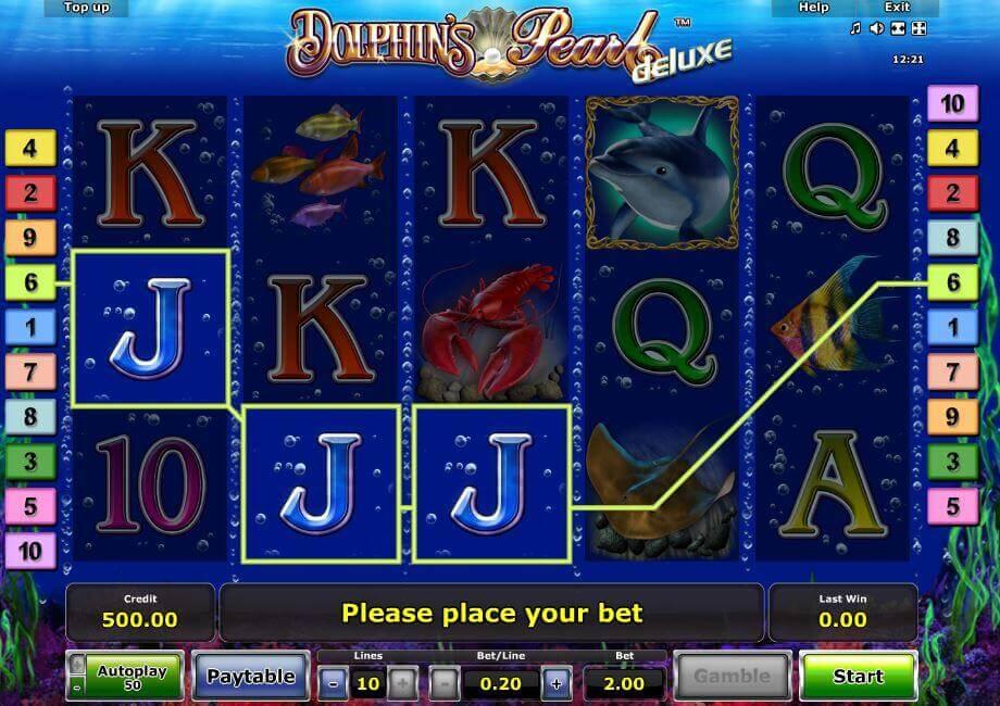 Dolphin's Pearl mit Echtgeld spielen bei Rivo Casino