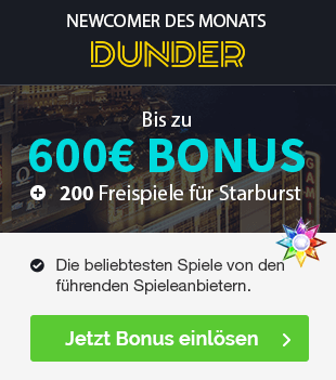 Dunder Casino Empfehlung