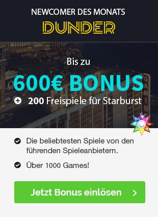 Dunder Bonus sidebar
