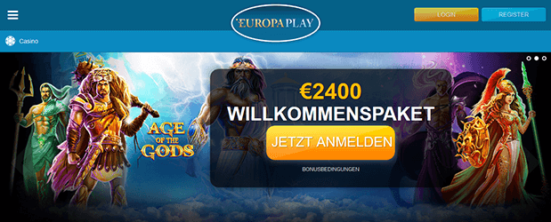 Europlay Casino Bonus