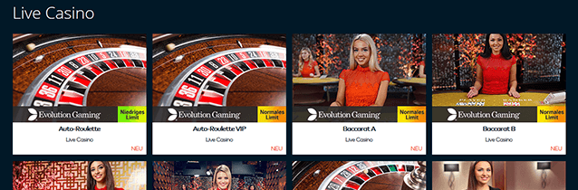 Fun Casino Livespiele