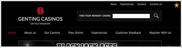 Genting Casino Home