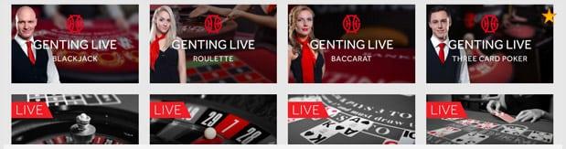 Genting Casino Live Casino