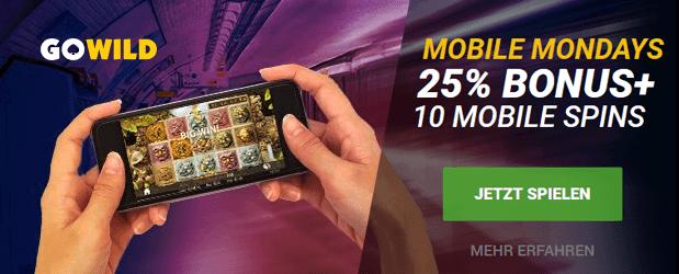 Gowild Casino App Bonus