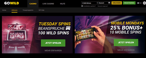 Gowild Casino Promotion