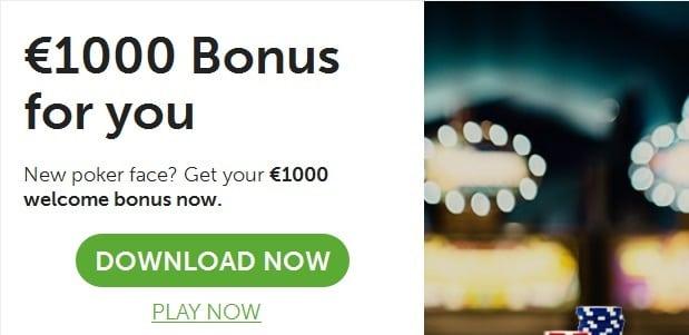 Großer Pokerbonus von bis zu 1.000€ bei 24Poker