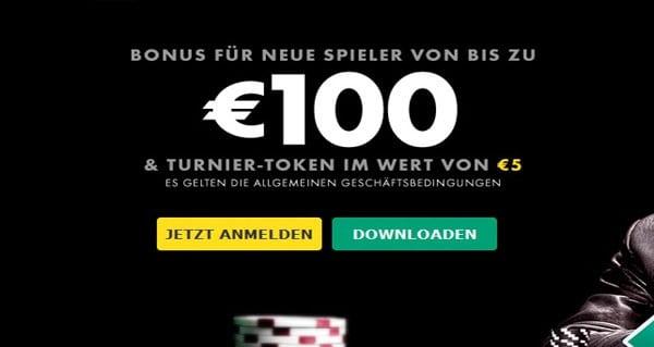 Bet365 Poker verschenkt 100€ und mehr