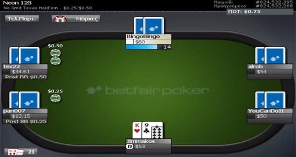 Betfair Poker akzeptiert sogar PayPal als Zahlungsmittel