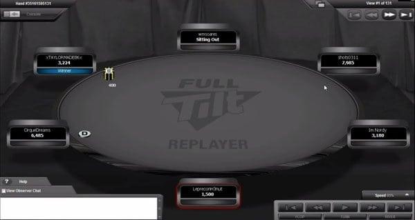 Auf Wunsch lassen sich alle Animationen ausschalten – Poker pur