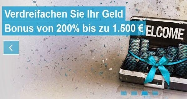 Bei Netbet Poker anmelden und bis zu 1.500€ mitnehmen
