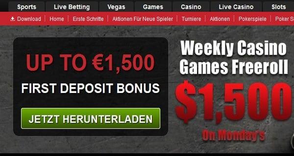 Winner Poker gibt bis zu 1.500€ Willkommens-Bonus raus