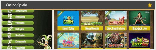 Joker Casino Spiele Angebote