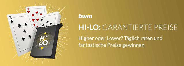 bwin Promotion Hi-Lo