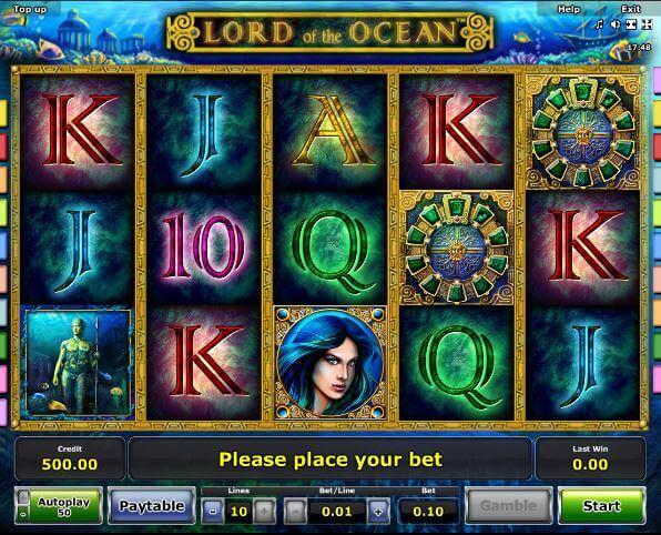 Lord of the Ocean Bonus ohne Einzahlung bei Rivo Casino