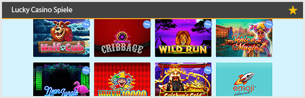 Lucky Casino Spiele Angebote