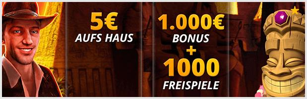 LVbet Casino Bonus: bis 1000 Euro für die ersten vier Einzahlungen