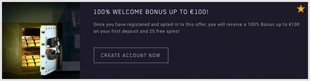 Maria Casino Bonus: Bis zu 100 Euro + 25 Freispiele für Neukunden