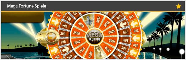 Mega Fortune Spiele