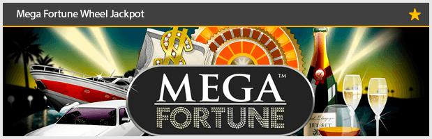 Mega Fortune Wheel Jackpot
