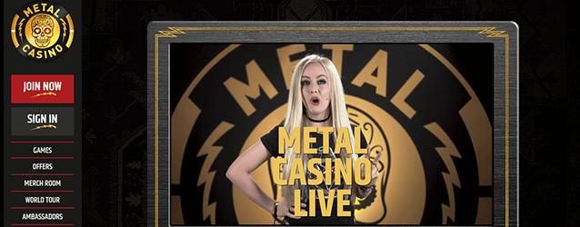 Metal Casino Live-Casino