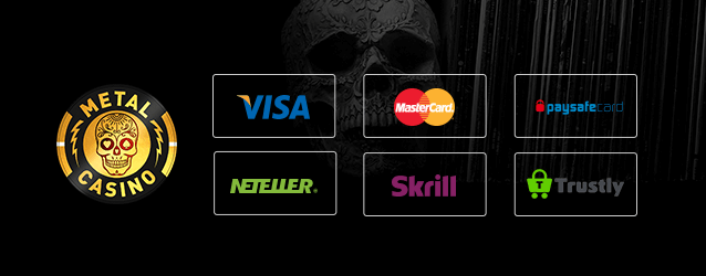 Metal Casino Zahlungsarten