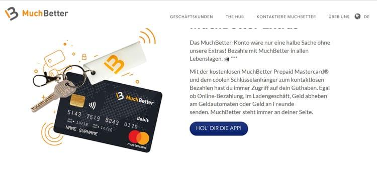 Mit den MuchBetter Zahlungs-Goodises braucht man nicht einmal die App