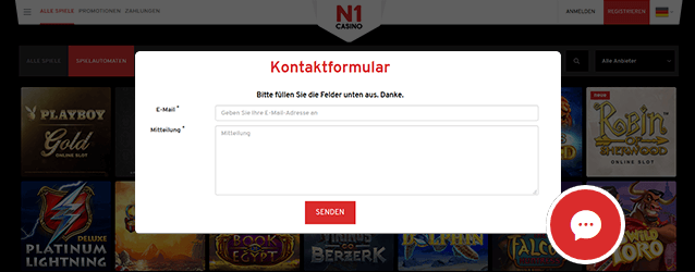 N1 Casino Support
