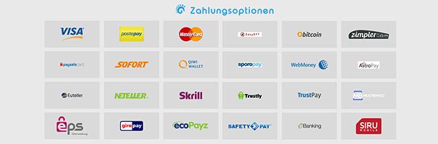Nordicasino Zahlungsmethoden