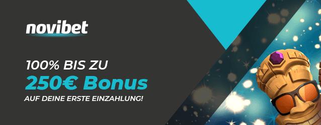 Novibet Bonus