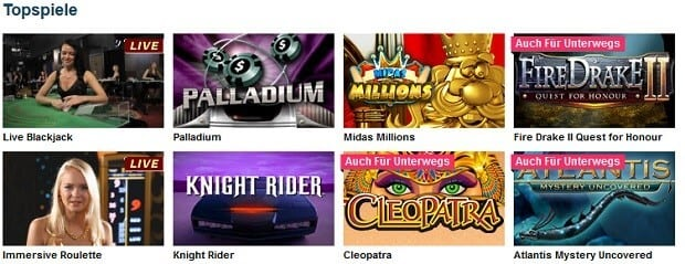 party casino spieleauswahl