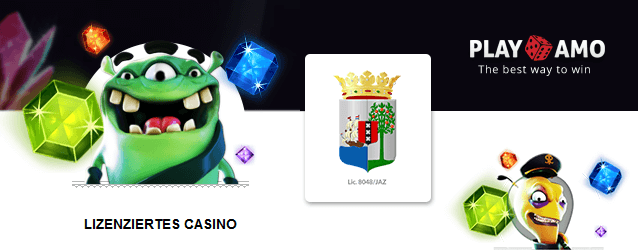 PlayAmo Casino Lizenz