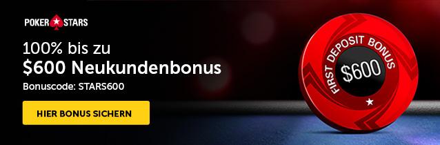 Pokerstars Einzahlungsbonus