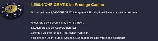 prestige casino 1500 bonus