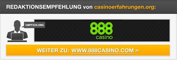 Redaktionsempfehlung 888 Casino