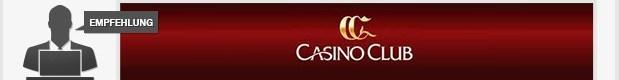 Redaktionsempfehlung CasinoClub