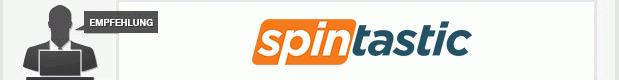 Redaktionsempfehlung Spintastic