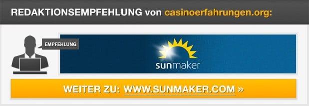 Redaktionsempfehlung Sunmaker