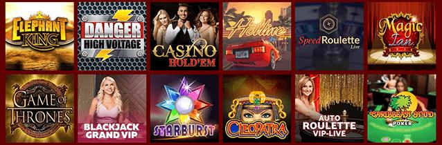 RedSpins Casino Spiele