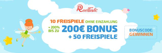 ReelTastic Casino Bonus