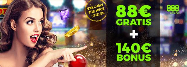 888Casino Roulette Bonus