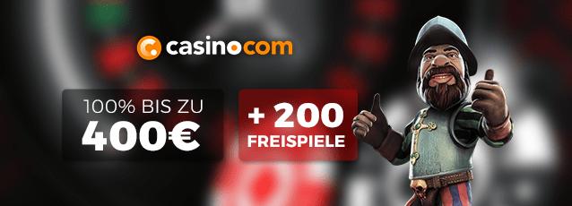 Casino.com Roulette Bonus