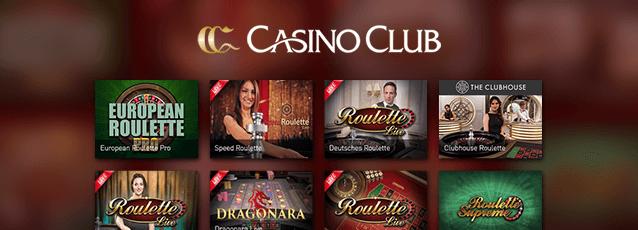 CasinoClub Roulette