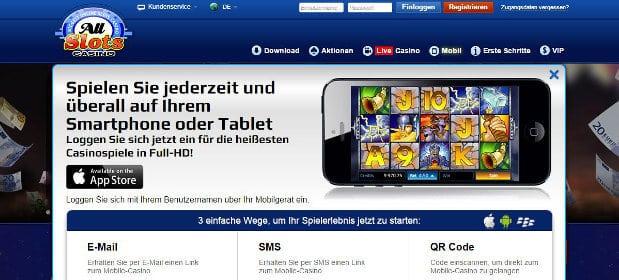 Ansprechende mobile App fürs einwandfreie Spielen von unterwegs