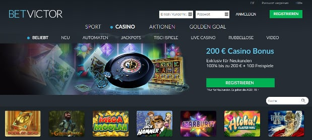 betvictor casino website