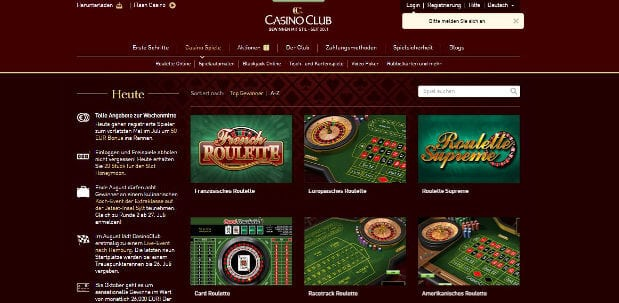 casino club tipps