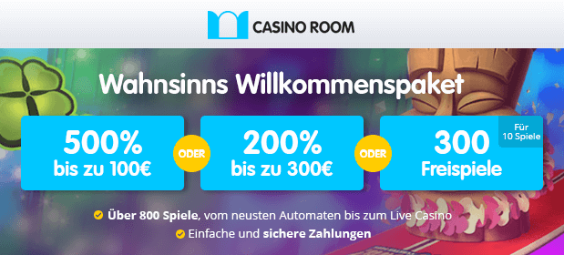 Casino Room-Bonus