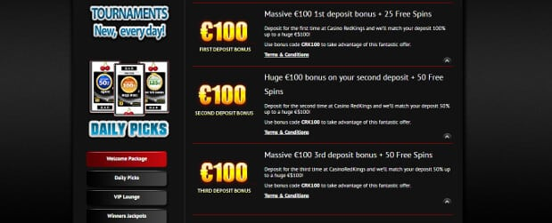 Redkings Bonus