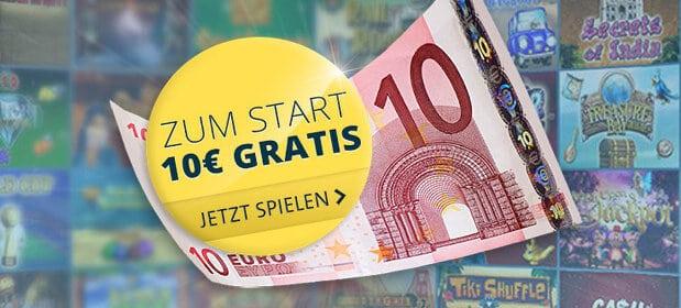 Neue Kunden erhalten 10€ gratis