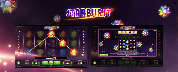 Sizzling Hot Alternative Starburst