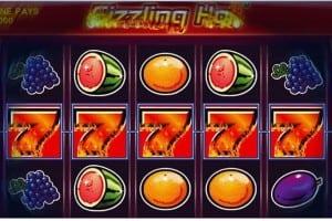 Sizzling Hot Bonus ohne Einzahlung